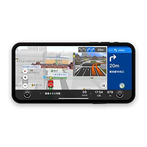 カーナビ タイム3年ライセンス NAVITIME(ナビタイム)スマートフォン ドラレコ カーナビ 【Android端末・iPhone/iPad・タブレット対応】地図 自動更新 最新 VICS 渋滞情報対応 ポータブルナビ ドライブレコーダー Apple CarPlay Android Auto にも対応!