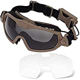 Best Airsoft Goggles - H World Shopping Fan Version Cooler Airsoft Glass Review