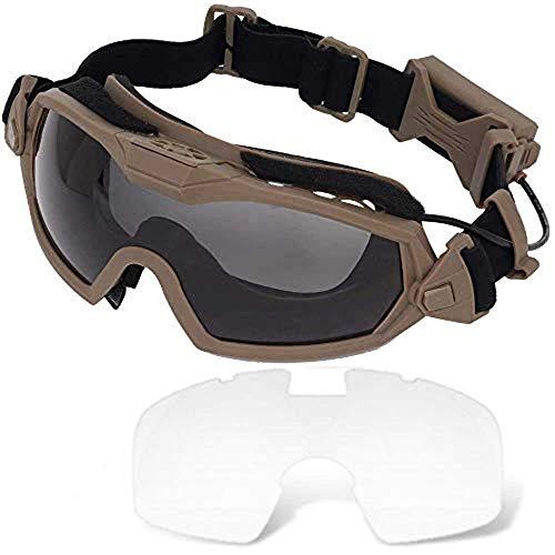 H World EU Fan Version Cooler Airsoft Glass Regulator Gafas de esquí Ski Snowboard Bike Sports