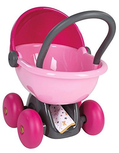 Smoby Baby Nurse poppenwagen Poppenwagen roze