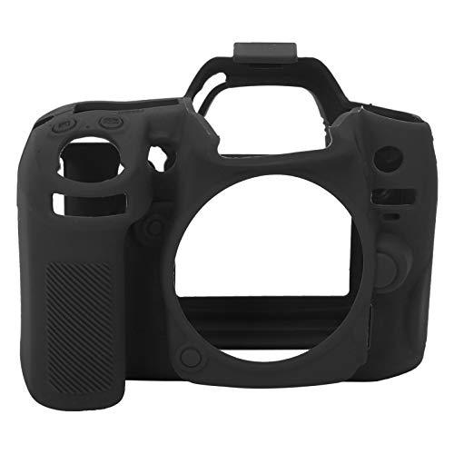 Carcasa Protectora de la cámara, Carcasa Protectora de la cámara Resistente al Desgaste Toque Suave y cómodo para fotógrafos para la cámara Nikon D7000(Black)