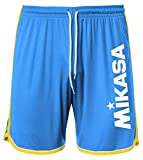 MIKASA Short Beach Volley Uomo MT5001 (V22 - Ortensia/ocra, XXL)