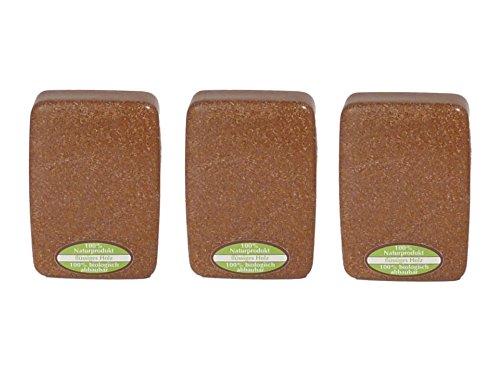 3x Seifendose aus Flüssigholz Seifenbehälter