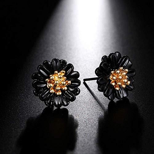 Geschenken Oorbellen Delicate Grote metalen bloem Druppel oorbellen voor vrouwen Bohemian Style Hanger Oorbellen Sieraden VerjaardagscadeauStijl 5-kleur 4