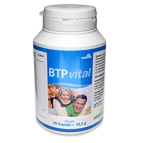 BTP Vital Antioxidant Granatapfel Traubenkern Heidelbeer Curcuma Vitamin E Piperin