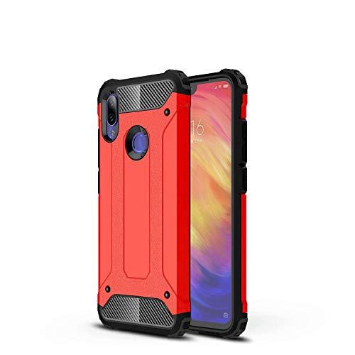 TenYll Funda para Huawei Y5p, Protección contra Golpes de TPU + PC Resistente a Arañazos(Doble Capa), Fundas Carcasas Case para Huawei Y5p (Rojo)