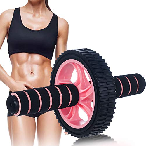 N-A Ab Roller Wheel Exercise Equipment,No Noise Ab Roller Wheel at Home Workout Easy to Assemble Ab Trainers Abdominal Roller Wheel Fitness Home Ab Workout Equipment for Men Ab Wheel Ab Machine