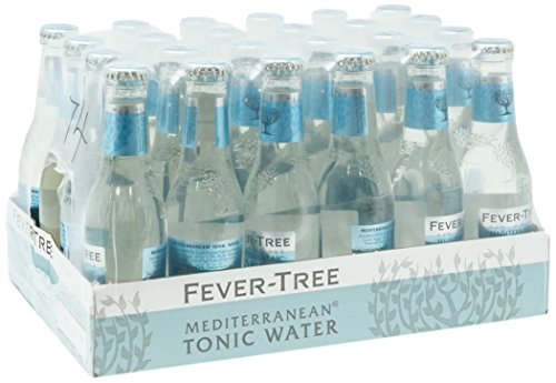 Fever Tree Mediterranean Refrescos - Paquete de 24 x 200 ml - Total: 4800 ml