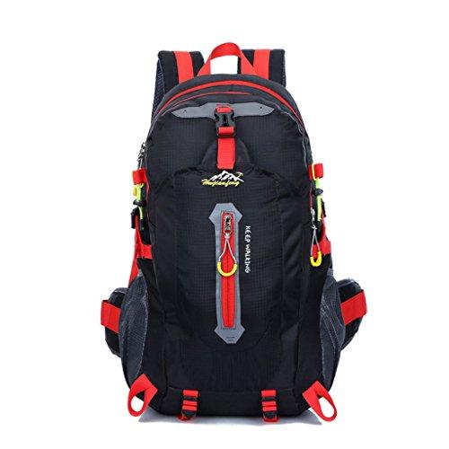 sacs de montagne en plein air étanche sac à bandoulière en nylon loisirs unisexe sac à dos