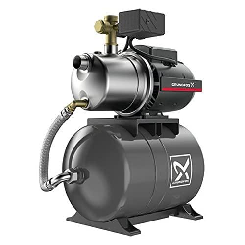 Grundfos Wasserpumpe, 20 l, JP447PT – Wasserpumpe, 0,85 kW, 1 bis 3,5 m³/h, einphasig, 220 V