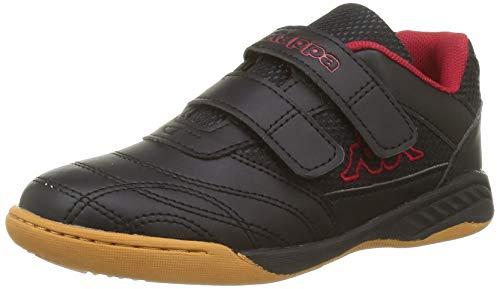 Kappa Kickoff OC, Zapatillas Unisex niños, 1120 Negro y Rojo, 25 EU