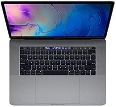 Apple MacBook Pro 15-inch w/ Touch Bar (Mid 2018), 220ppi Retina Display, 6-Core Intel Core i7, 512GB PCIe SSD, 16GB RAM, macOS 10.13, Space Gray (Renewed)