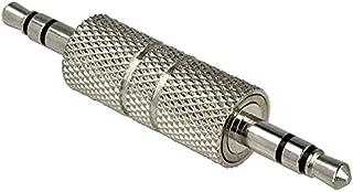 DeLOCK 65629 - kabelgränssnitt/könsadaptrar (3,5 mm, 3,5 mm, silver, hane/hane, metall, plastpåse)