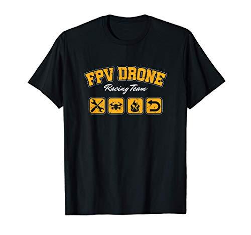 FPV Drone Drohnenpilot Gyroskop Hexacopter Drohne Geschenk T-Shirt
