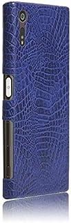 جراب هاتف SONY Xperia XZ - جراب هاتف خلوي صلب درع 360° يحمي هاتفك من جلد التمساح - جراب لهاتف SONY Xperia XZ
