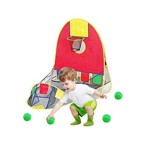 SYXX Tragbare Kugel Schießen Zelt, faltbare Pop-up-Gaming Zelt, Spiel-Haus-pädagogisches Spielzeug-Haus, im Freien Innenaufnahme Zelt, Kinder Zelt