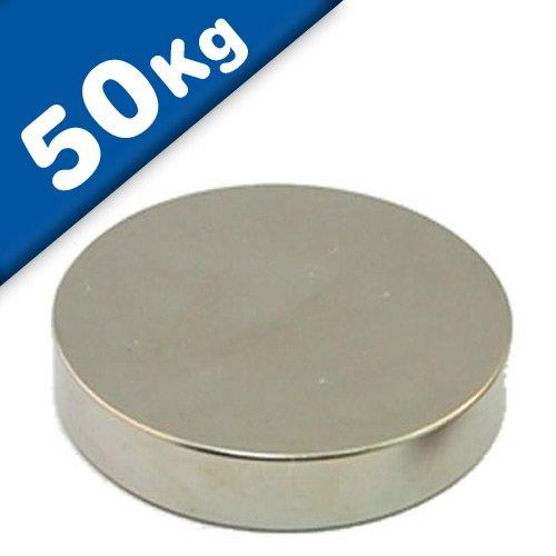 Disco Magnético Ø 60 x 10 mm Neodimio N45