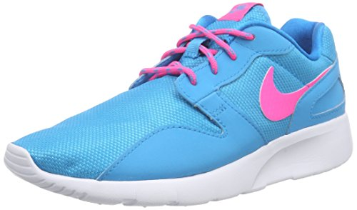 Nike Mädchen Kaishi (GS) Laufschuhe, Türkis (Blue Lagoon/Pink Pow/White), 38.5 EU