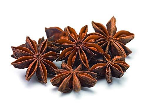 Anice stellato biologico intero 1kg BIO eco, stelle aromatiche di anice, spezie di prima qualità, gusto intenso 1000g