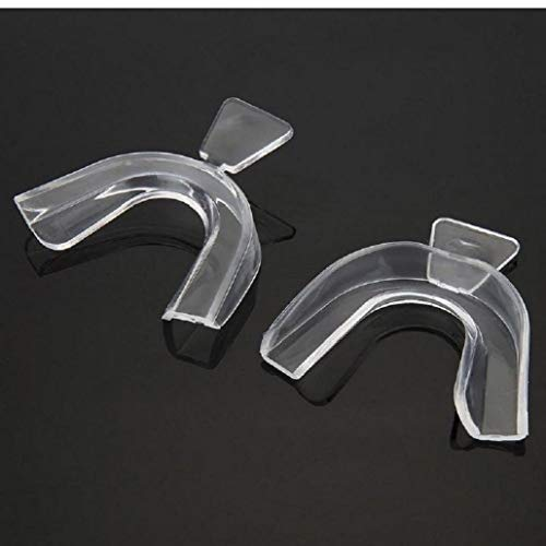 Dorime 2 Zahnaufhellungszahn Tabletts zum Bleichen von Heißleim Schilden