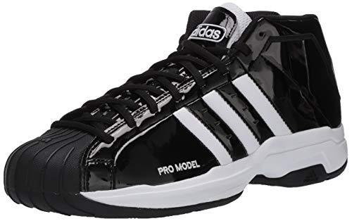 adidas Pro Model 2G Sneaker, White/Black, 10.5 M US