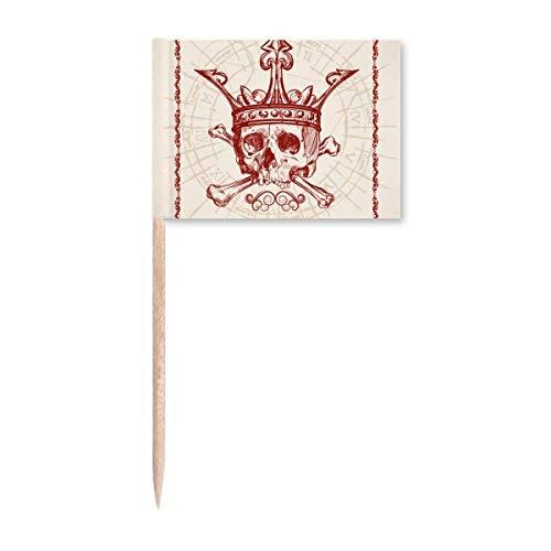 Tarjeta de póquer con forma de corazón con diseño de corona roja, para decoración de fiestas
