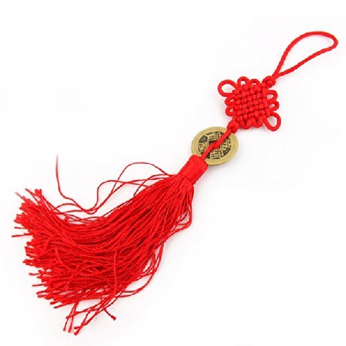 Porte Bonheur Feng Shui Pièce chinois - Talisman de chance e