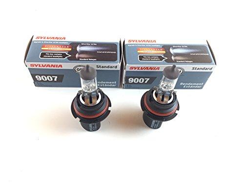 2x Osram Sylvania HB5 lamp 9007 lamp 12V 65/55W 12,8 V 65/55 Watt 12 Volt PX29t