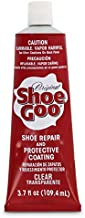 Shoe Goo Repair Adhesive for Fixing Worn Shoes or Boots, Clear, 3.7-Ounce Tube