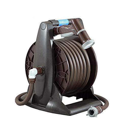 三洋化成 シャロリール 15mmさらさら耐圧ホース 20m ブラウンメタリック SB5-Q207R