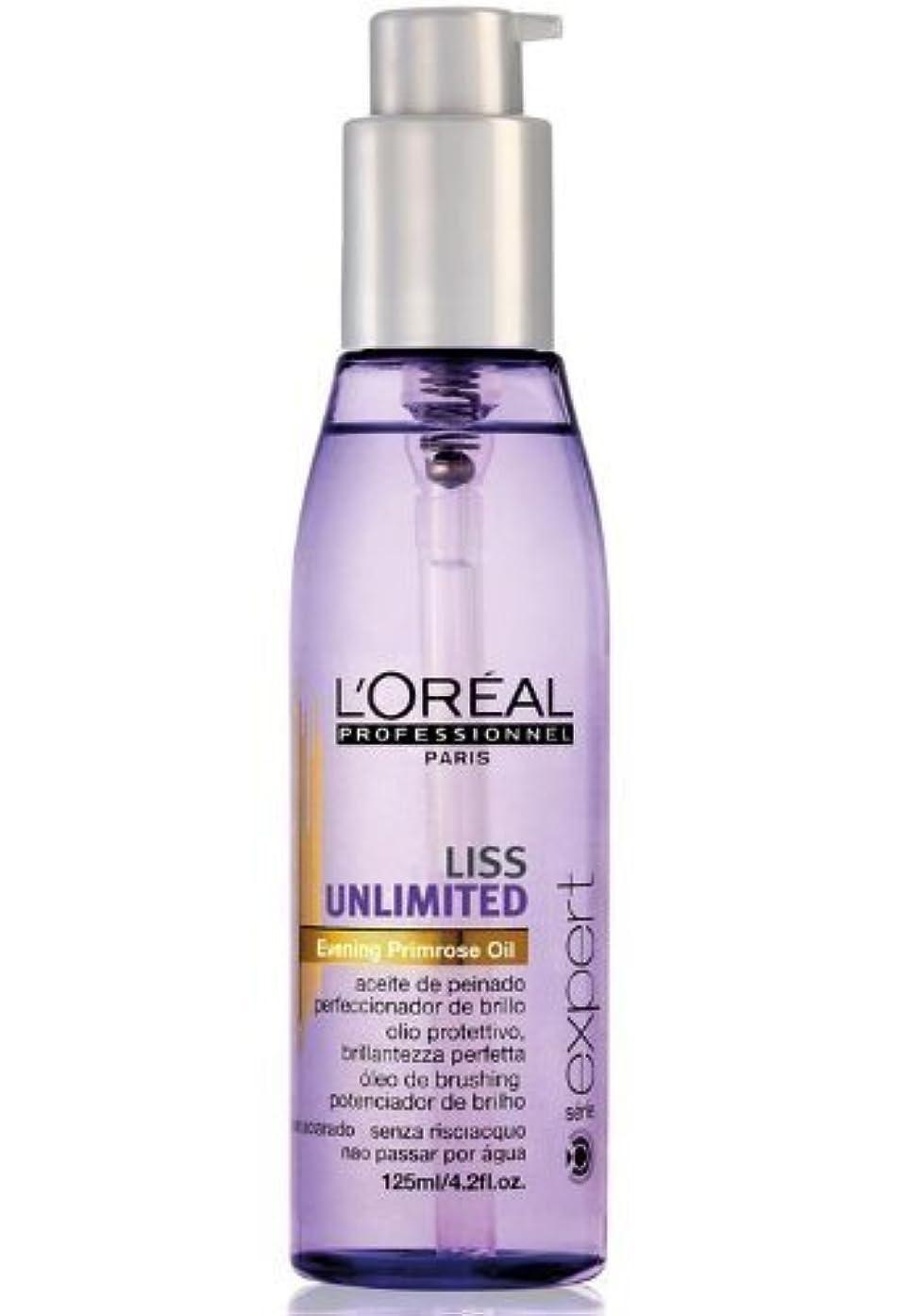 傷跡刺激する意外New 2013!!! L'oreal Liss Unlimited Oil for Smoothening and shining of hair, softens even the most frizzy hair by L'Oreal Paris
