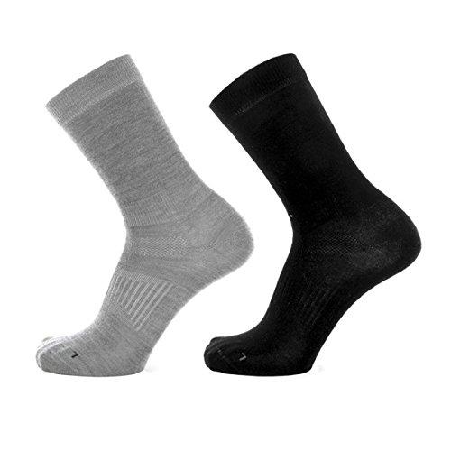 Devold Start Sock 2er Pack Flint/Black EU 37-39