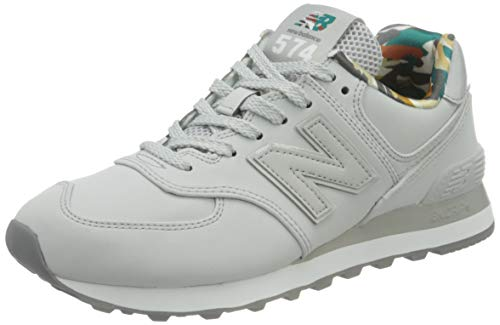 New Balance 574 ML574GYX Medium, Scarpe da Ginnastica Uomo, Grey (Light Aluminum GYX), 44 EU