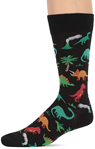 Hot Sox Dinosaurs Schwarz Socken