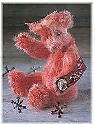 """Margaux Mohair Bear - 5 1/2"""""""