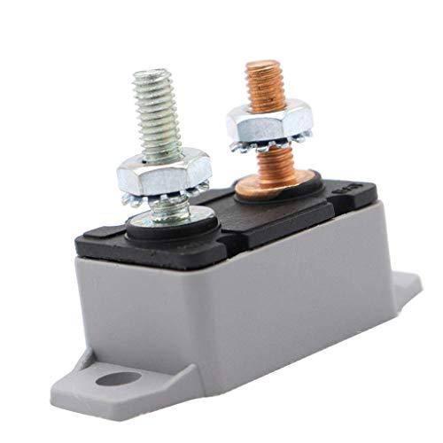 SLZDQNN 12V / 24V del perno Perno Tipo 30Amp automática reinicie el interruptor de circuito de protección for el barco del carro del autobús Marina