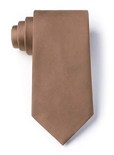 Raw Umber Raw Umber Silk Extra Long Tie