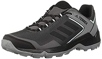 adidas outdoor Women's Terrex EASTRAIL Hiking Boot, Grey Four/Black/Clear Mint, 10 M US