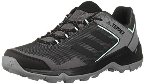 adidas outdoor Women's Terrex EASTRAIL Hiking Boot, Grey Four/Black/Clear Mint, 7.5 M US