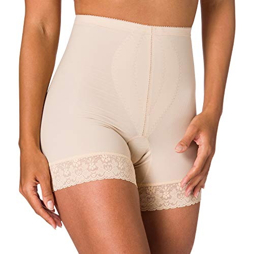 Playtex KZ MIDERH. langes Bein, 2526 Pantalones moldeadores, Beige (Beige 004), Talla del fabricante: 90 para Mujer