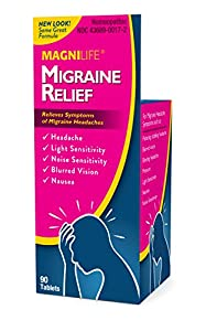 RELIEVE AND PREVENT MIGRAINE SYMPTOMS: pulsating, stabbing, throbbing headaches, blurred vision, light and noise sensitivity, nausea and pressure FAST RELIEF: Tablets dissolve under the tongue and may be used to treat migraine attacks immediately or ...