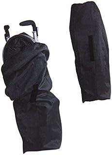ストローラーカバー ベビーカートラベルバッグ 旅行収納袋バギー用 ベビーの収納ケースご自宅保管用 ほこり防止 巾着袋 折り畳み式 コンパクト 旅行などの出掛けに最適 ブラックA(114*39*30CM)