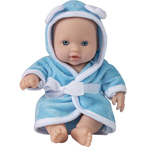 Wowow Toys & Games Baby-Puppe, blau, für Kinder, ideal für Kinderwagen, Kinderwagen, Rollenspiel, Spaß für Kinder Jungen und Mädchen