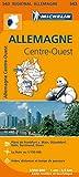 Carte Allemagne Centre-Ouest Michelin