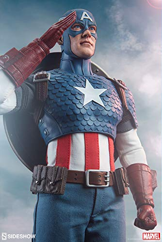 Sideshow Collectibles Marvel Comics Action Figure 1/6 Captain America 30 cm