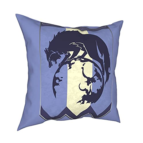 Funda de Almohada Competitive & Games & Fire Emblem 3 Houses Ashen Wolves Banner Pillowcases,Floor Pillowcases,Pillowcases,Sofa Cushions,Cushion Covers,Backrest Covers,Car Cushion Interiors