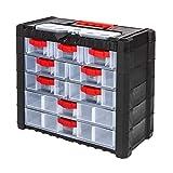 Unbekannt Werkzeugkoffer Sortimentskoffer Sortimentskasten Koffer Kleinteilemagazin 5 Größen (NS501)