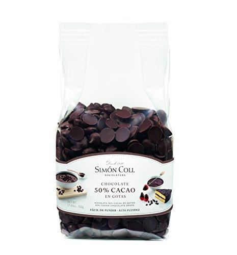 Simón Coll - Gotas de Chocolate 50% cacao 500g