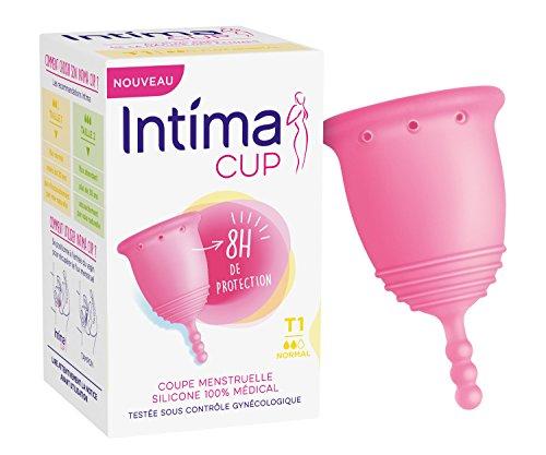 Intima Cup - Coupe Menstruelle en silicone - Taille 1 - Flux Régulier