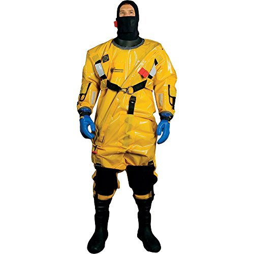 Why Should You Buy Mustang Survival Corp Ice Commander Suit Pro, Gold